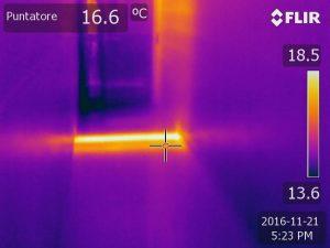 ricerca perdite infrarossi
